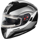 White Atom SV Tarmac Modular Snow Helmet w/Electric Shield
