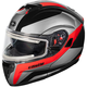 Red Atom SV Tarmac  Modular Snow Helmet w/Electric Shield