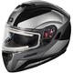 Black Atom SV Tarmac Modular Snow Helmet w/Electric Shield