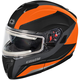 Matte Flo Orange Atom SV Tarmac Modular Snow Helmet w/Electric Shield
