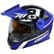 Blue/Black EXO-CX950 Slash Snow Helmet