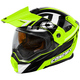Hi-Vis/Black EXO-CX950 Slash Snow Helmet
