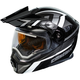 Black/Gray EXO-CX950 Slash Snow Helmet w/Electric Shield