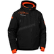 Black/Orange Rival Jacket