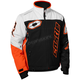 White/Black/Orange Strike Jacket