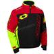Red/Black/Hi-Vis Strike Jacket