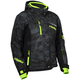Women's Alpha Black/Hi-Vis  Powder Jacket