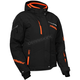 Women's Black/Orange Powder Jacket