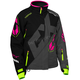 Women's Black/Dark Gray/Pink Glo Vapor Jacket