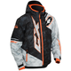 Youth Alpha Black/Orange Stance Jacket