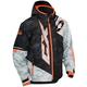 Youth Alpha Black/Orange Stance Jacket