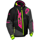 Youth Black/Pink Glo/Hi-vis Stance Jacket