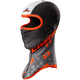Black/Orange Team Sublimated Balaclava - 77-120C