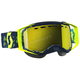 Yellow/Blue Prospect Snowcross Goggles w/Amp Yellow Chrome Lens - 262581-1300325