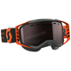 Black/Orange Prospect Snowcross Goggles w/Amp Silver Chrome Lens - 262581-1009313