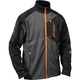 Black/Gray/Orange Fusion G2 Mid-Layer Jacket