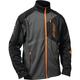 Black/Gray/Orange Fusion G2 Mid-Layer Jacket