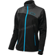 Women's Black/Process Blue Fusion G2 Mid-Layer Jacket