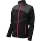 Women's Black/Magenta Fusion G2 Mid-Layer Jacket