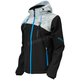 Women's Black/Alpha Gray/Blue Barrier G2 Tri-Lam Jacket