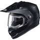 Matte Black DS-X1 Snow Helmet w/Frameless Electric Shield