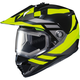 Hi-Viz Neon/Black DS-X1 Lander MC-3HSnow Helmet w/Frameless Electric Shield