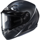 Semi-Flat Black/GrayCS-R3SN Space MC-5SF Helmet w/Dual Lens Shield