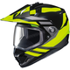 Hi-Viz Neon/Black DS-X1 Lander MC-3H Snow Helmet