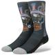 Black Harley Davidson Freedom Machine Socks - M556D16FRE-LG