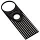 Black/Silver Finned Dash Panel - 04-20-2