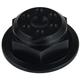 Black Steering Stem Nut - 30-012-1