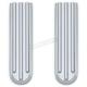 Chrome Upper Fork Slider Covers - 7142