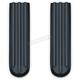 Gloss Black Upper Fork Slider Covers - 7143