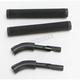Aluminum Handlebar Hook Kit w/Grips - TBH-1-K