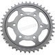 Induction Hardened Black Zinc Finished Rear Sprocket - JTR1489.40ZB