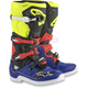 Black/Yellow/Fluorescent Red Tech 5 Boots
