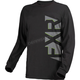 Black/Gray Evo Long Sleeve Shirt