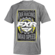 Gray Heather/Hi-Vis Mad Speed T-Shirt