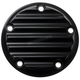 Black 5-Hole Finned Point Cover - 02-99-1