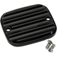 Black Finned Front Master Cylinder Cover - 951019-1