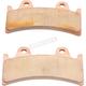 Premium Sintered Metal Brake Pads for Jaybrake Six-Piston Caliper - 1721-2468