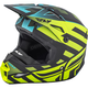 Black/Hi-Vis Interlace Elite Cold Weather Helmet