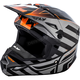 Black/Orange Interlace Elite Cold Weather Helmet