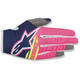Pink/Blue Radar Flight Gloves