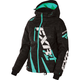 Women's Black Digi/Mint Boost Jacket