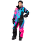 Women's Electric Pink/Black/Aqua CX Monosuit