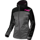 Women's Gray Heather/Fuchsia  Diamond Dual-Laminate Jacet