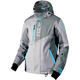 Women's Gray/Light Gray/Aqua Renegade Jacket