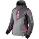 Women's Gray/Charcoal/Fuchsia Renegade Jacket