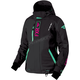 Women's Black/Mint/Electric Pink Renegade Jacket